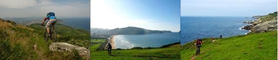 mountain biking in the Basque Country