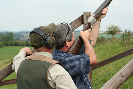 clay pigeon shooting experience days