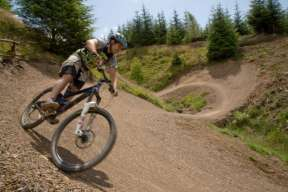 Mountain Bike Berms at Gisburn Forest