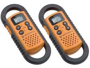 Motorola talkr_t3 walkie talkies