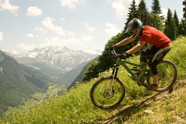 Mountain Biking in Morzine, France