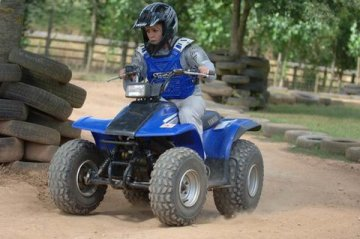quad biking safely