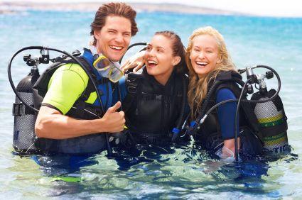 Great fun scuba diving