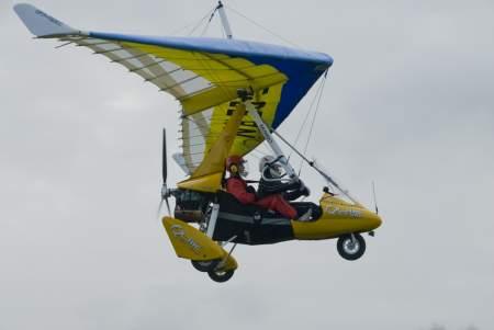Mircolight aircraft