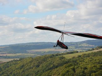 Hang Gliding on an Experience Day