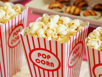 popcorn to eat during movies