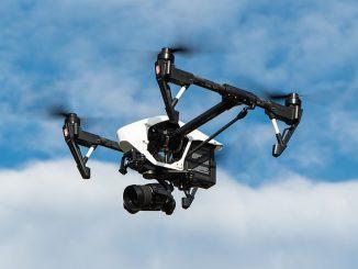 DJI Inspire Drone in sky