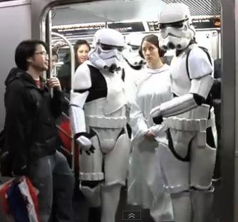 Star Wars Street Improvisation