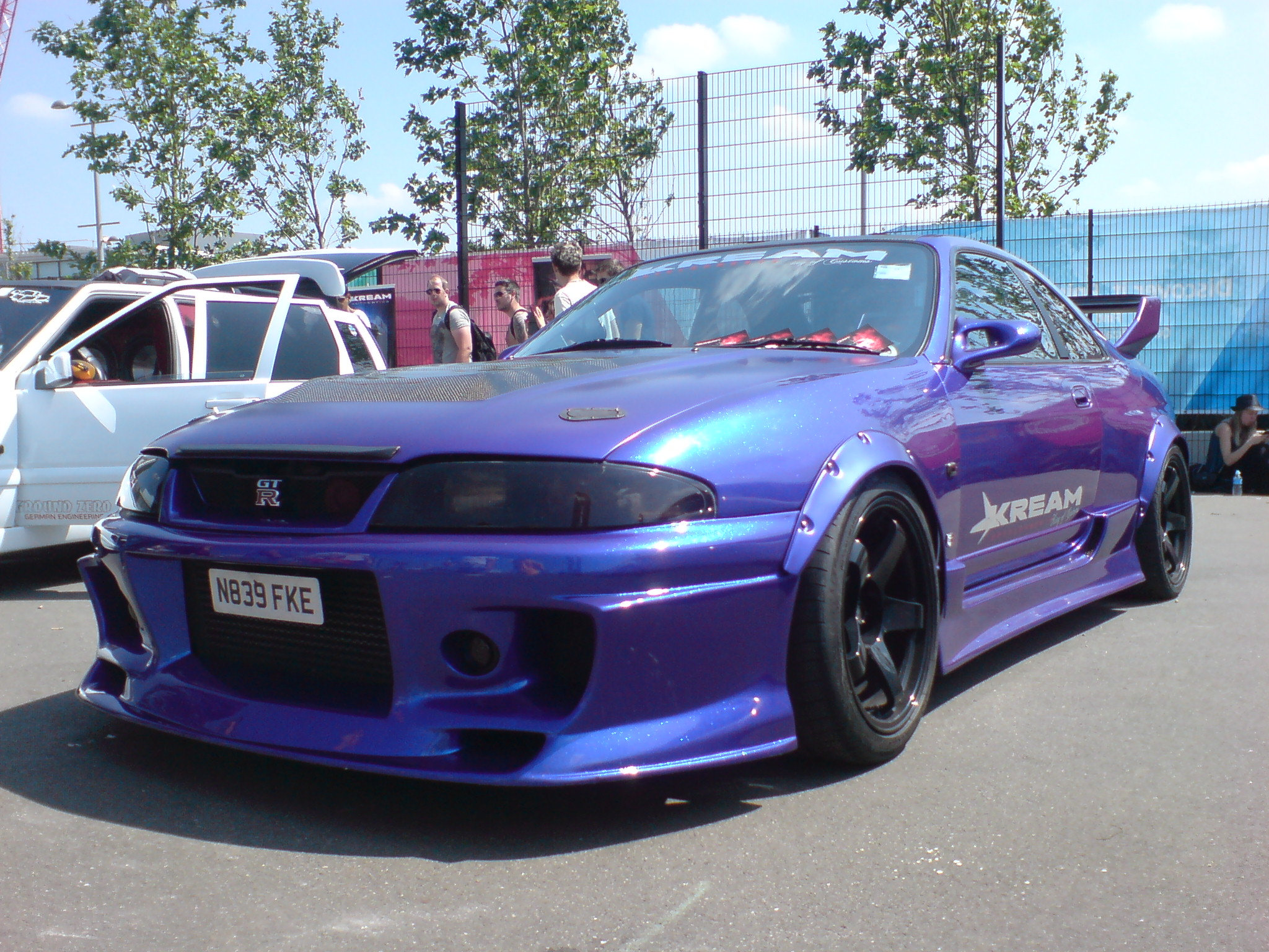 Drift Racing cars drive sideways