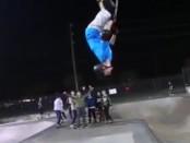 Scooter back flip