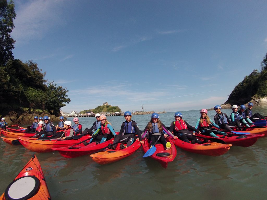 sea kayaking stag and hen parties