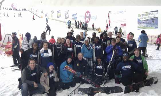 team building activities for teens in snow