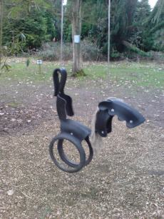 horse tyre rope swing