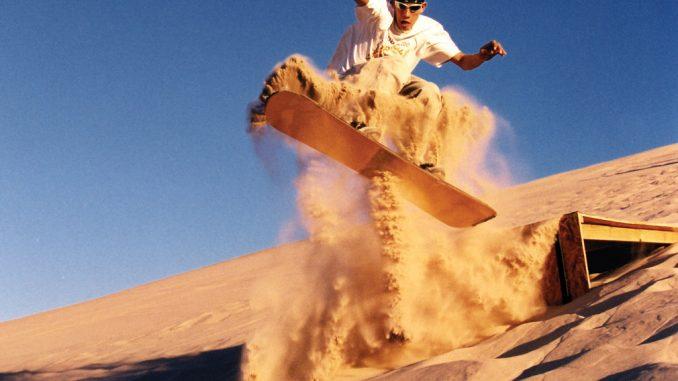 Sandboarding at Sandmaster Park