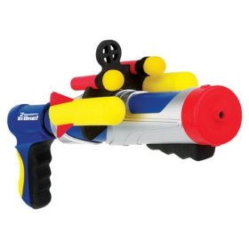 water fights with super soakers