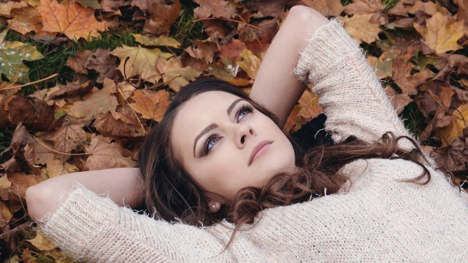 Woman thinking about Autumn