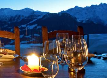 Food and Drink Catered Ski Chalets