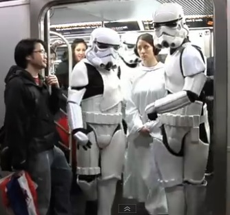 Star Wars Street Improvisation