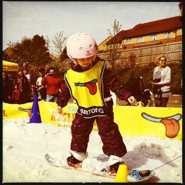 Kids at Snow Centre