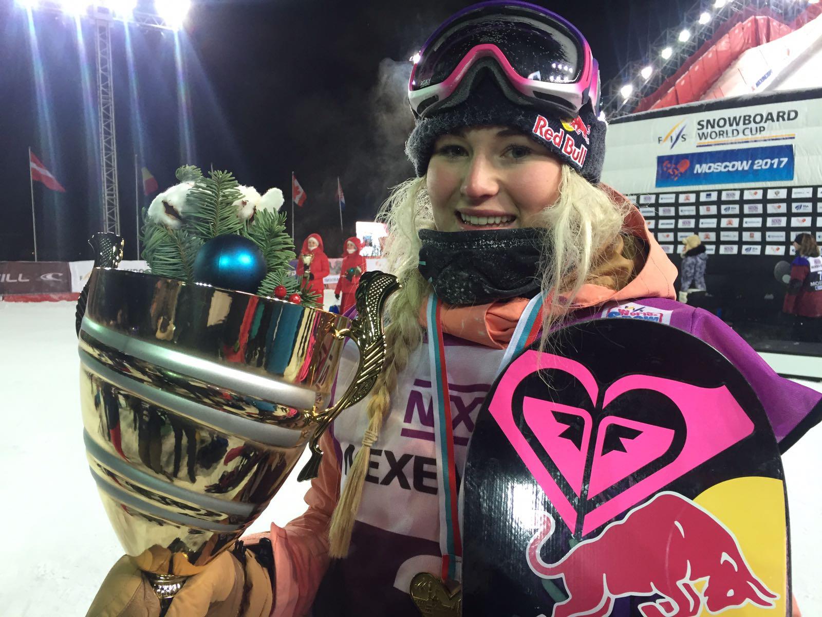 Katie Ormerod British snowboarder Wins again