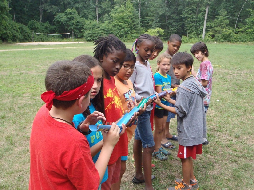 Team building activities for teens such as marble run