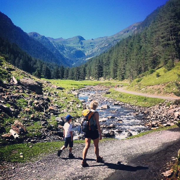 Walking in the Haute Pyrenees, France