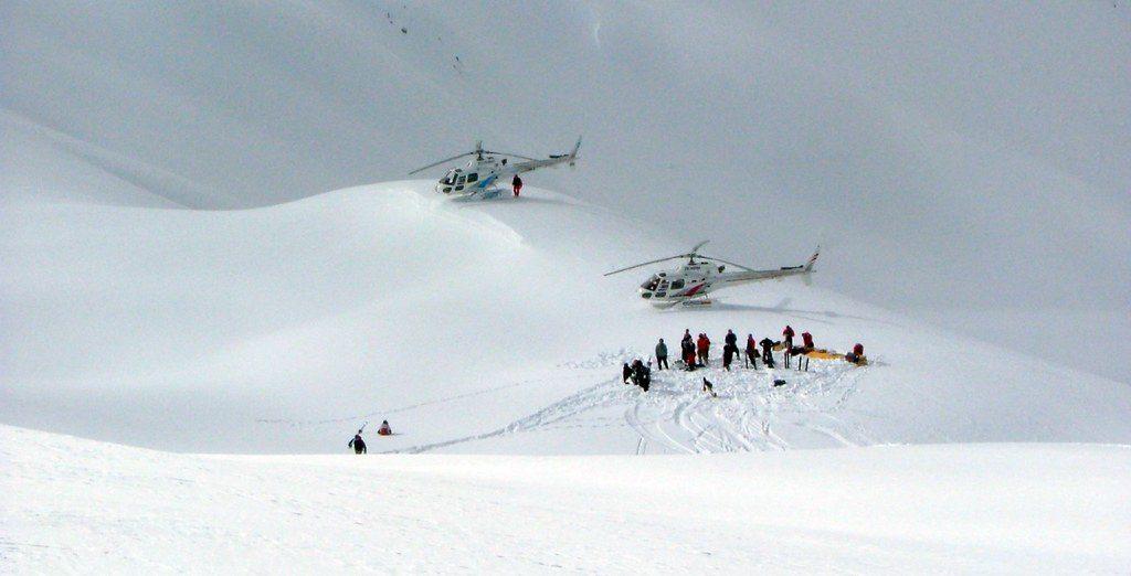 Heli Ski in New Zealand