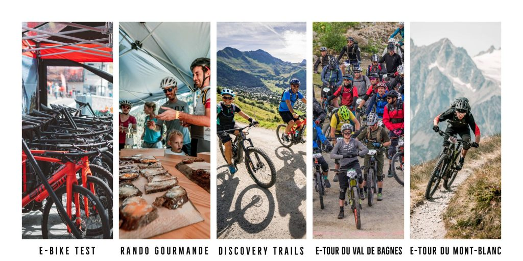 Verbier e bike festival activities