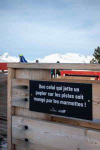 Keeping the mountains in Les Arcs clean and green