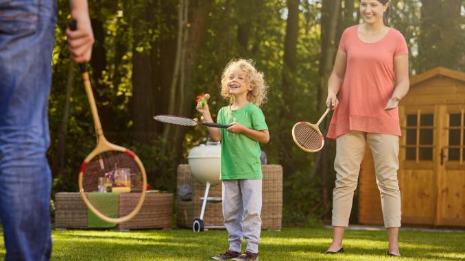 Best family garden games