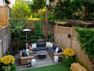 Outdoor entertaining in your garden