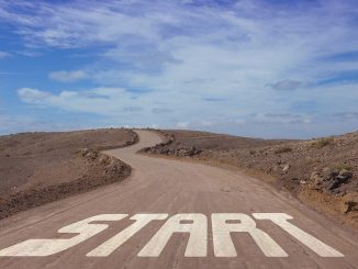Start of the road
