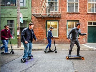 electric scooters, skateboards and hoverboards