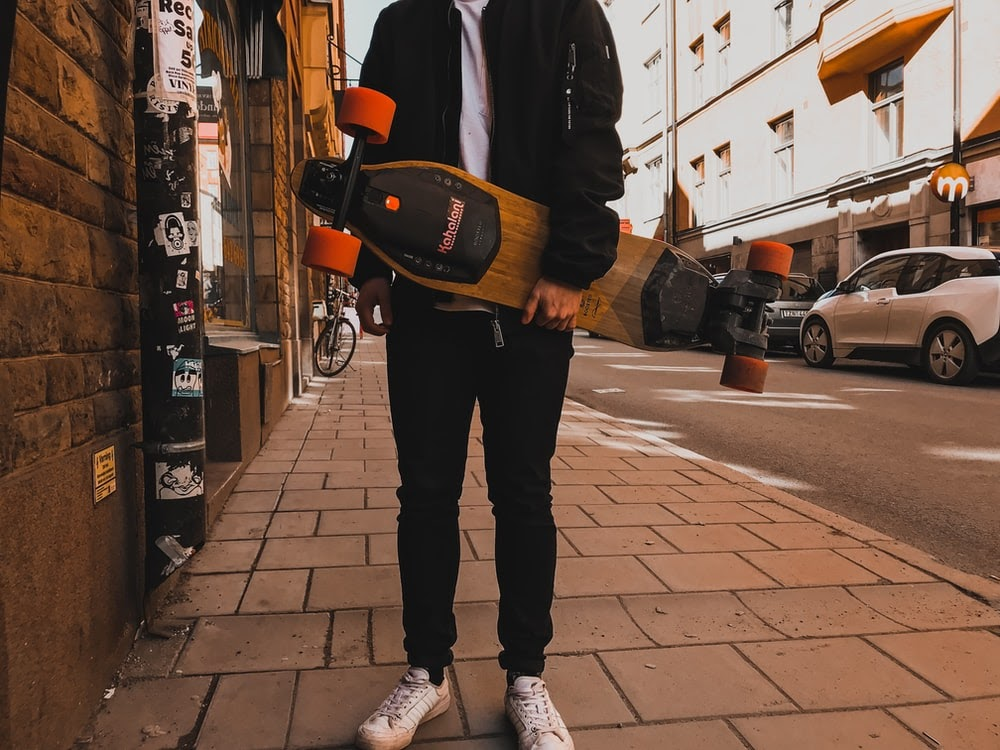 portability of electric skateboards